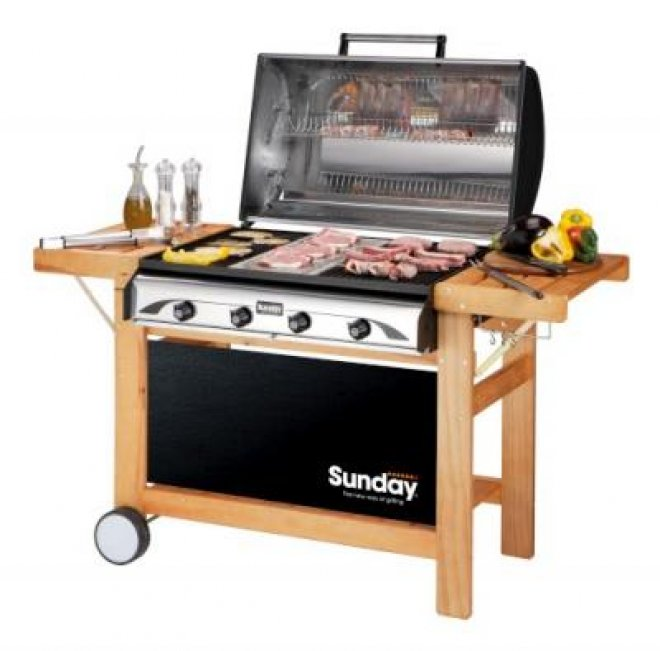 Profy gas barbecue 4