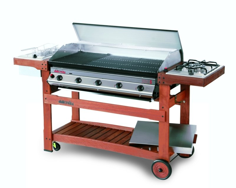 Barbecue Dolcevita Euro 5 lava rock