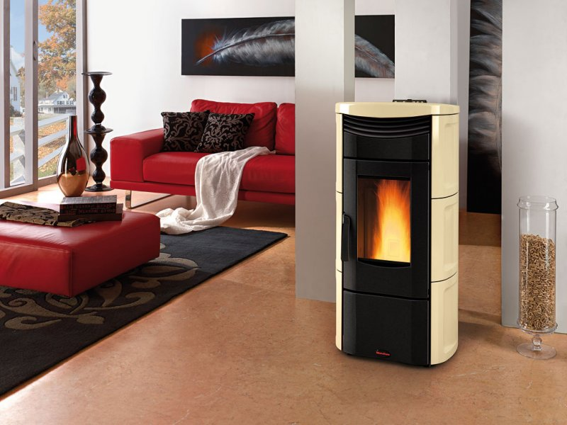 Stufa a pellet La Nordica Emma Plus  11 KW