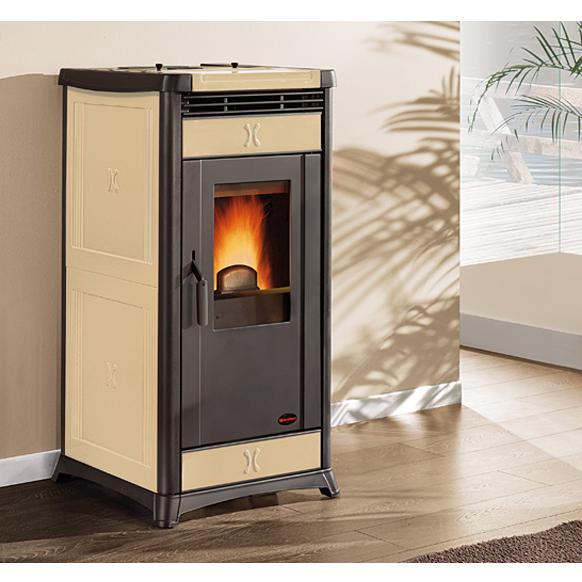 Stufa a pellet La Nordica Irma plus 11,4 kw