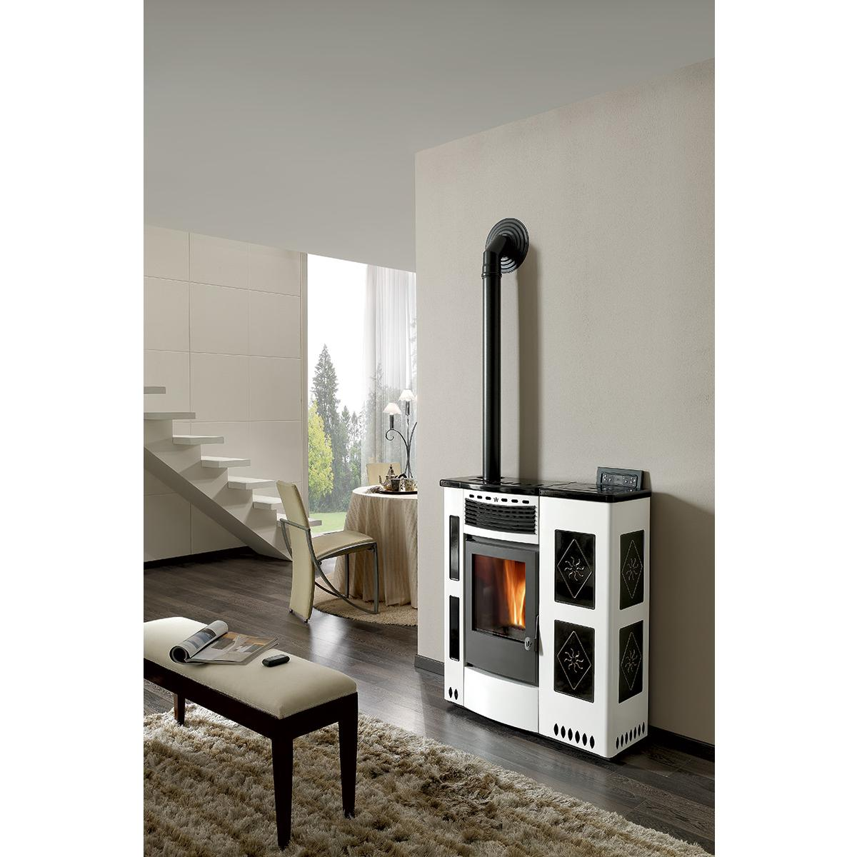 pellet stoves heating with comfort
