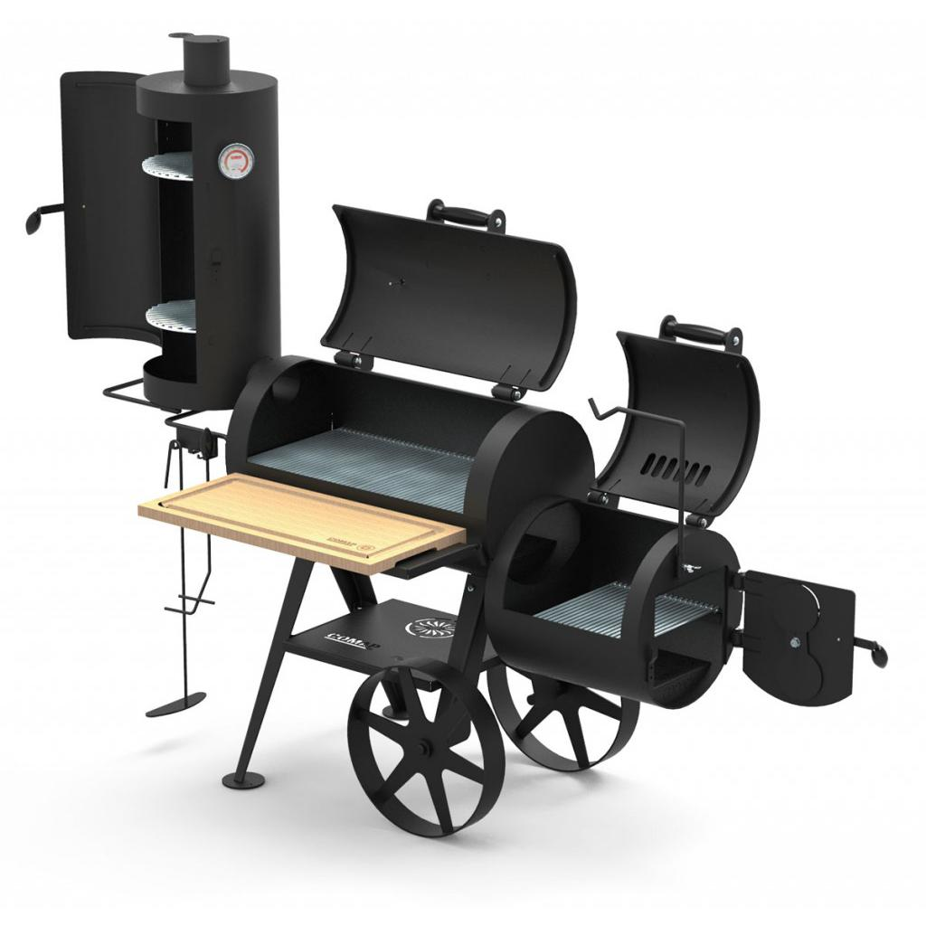 Wood barbecue comap Cooky Smoker